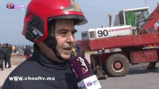 ضابط الوقاية المدنية ينعي أحد عناصره الذي استشهد في فاجعة سلا | خارج البلاطو
