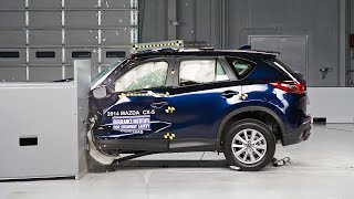 2014 Mazda CX-5 Small Overlap IIHS Crash Test