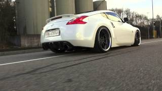 Nissan 370Z STILLEN Supercharger (0 - 160 Km/h acceleration)