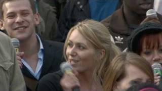T-Mobile Sing-along Trafalgar Square (extended Version