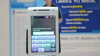 Liberar Sony Ericsson Xperia X8, Desbloquear Sony Ericsson