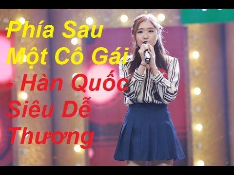 CA SĨ GIẤU MẶT - Cô gái Hàn Quốc Jin Ju cover Phía Sau Một Chàng Trai