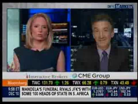 "Larry Shover Bloomberg TV ""Futures Focus"" - 12/10/13"