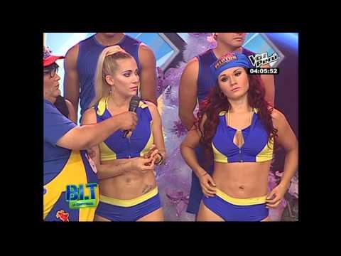 BLTC: Laura Huarcayo detiene baile por actitud de Génesis Tapia