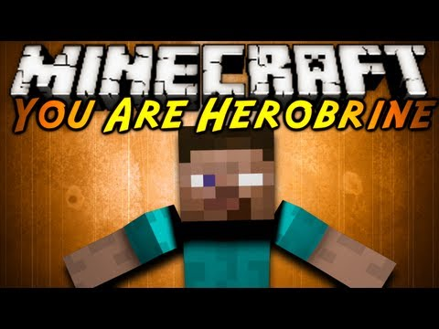Minecraft Mod Showcase : YOU ARE HEROBRINE!, This mod turns you into herobrine! You can do all sorts of creepy things, from taming Spiders to crafting steves to torture! download the mod here! (Tell em ...