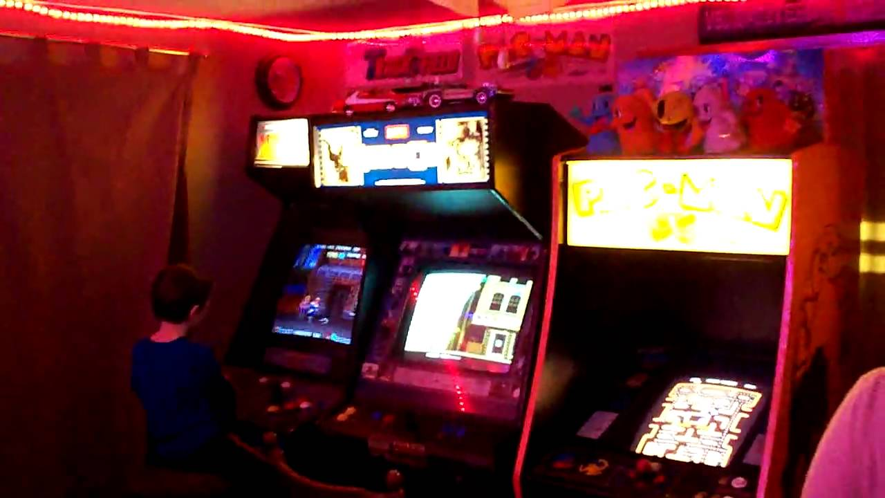Arcade Game Room Updated YouTube