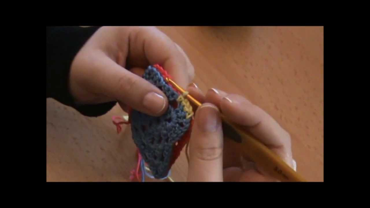 crochet assembler des carr s au crochet youtube. Black Bedroom Furniture Sets. Home Design Ideas