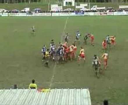 Rugby Bagarre général