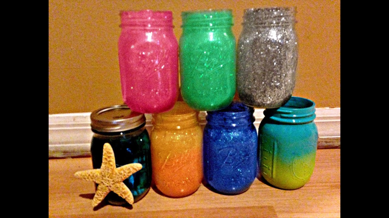 Diy mason jar crafts jazz transgender youtube for Projects to do with mason jars
