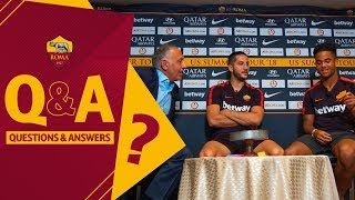 Pallotta, Manolas and Kluivert quiz each other!
