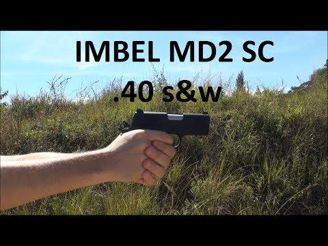 Pistola IMBEL MD2 SC .40 S&W