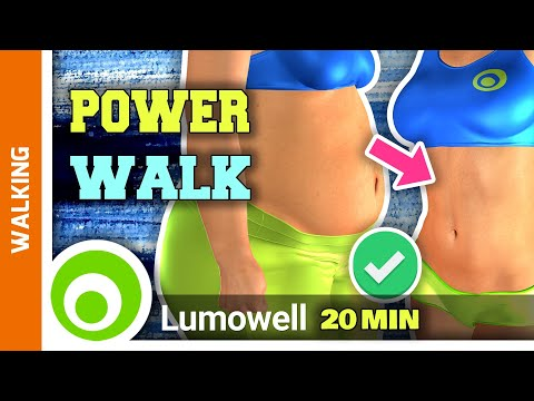20 Minute Walking Workout For Weight Loss