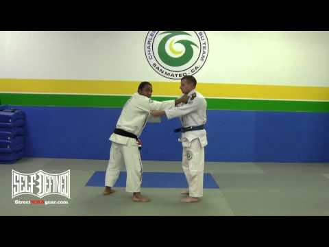Tomoe Nage Takedown - Gracie Brazilian Jiu Jitsu Technique