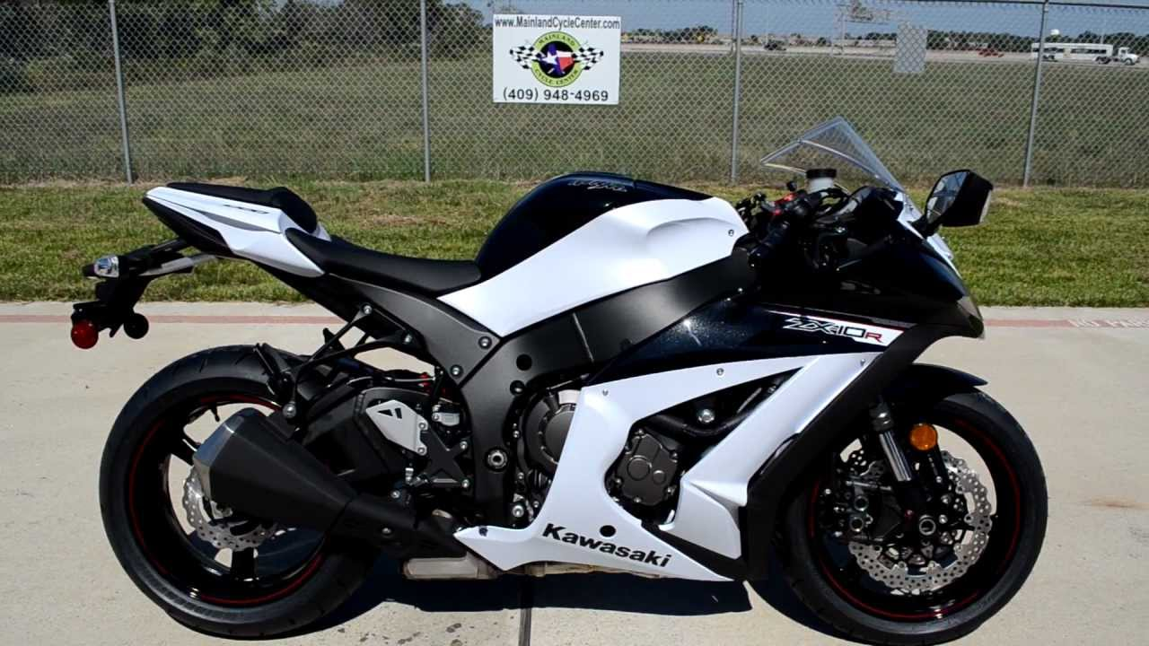 2011 kawasaki zx 10r white zx10 submited images