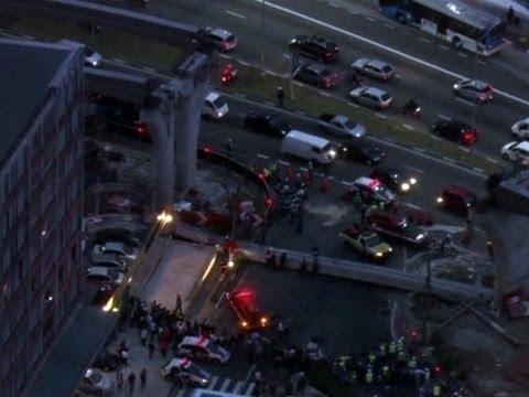 Raw: Brazil Construction Accident Kills Man