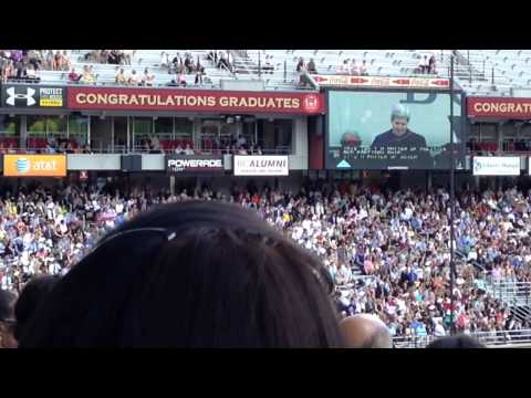 Secretary Kerry Speaks at BC Commencement about Climate Cha