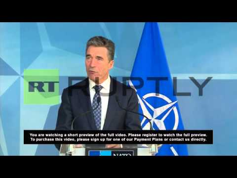 Belgium: Ukraine crisis gravest threat to European security since Cold War -NATO