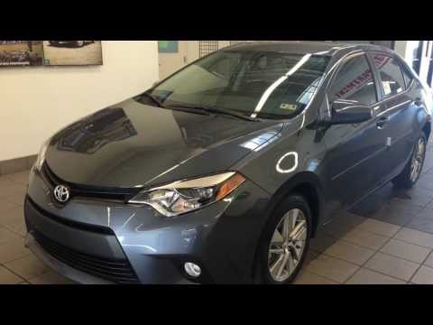 The 2014 Toyota Corolla at Toyota of Plano Proud to Serve Dallas/Fort Worth Metroplex, TX