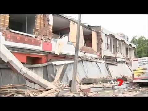 The 2011 New Zealand Earthquake - Network Seven Coverage
