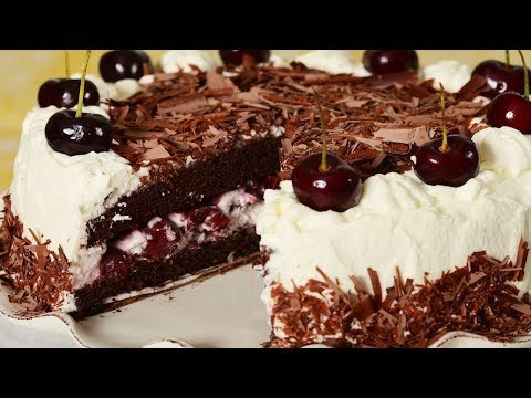 Black Forest Cake Recipe Demonstration - Joyofbaking.com, Recipe here: http://www.joyofbaking.com/BlackForestCake.html Stephanie Jaworski of Joyofbaking.com demonstrates how to make a Black Forest Cake. A Black Fore...