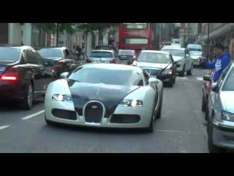 World's Best Super Cars in London with Best Accelerations!,
