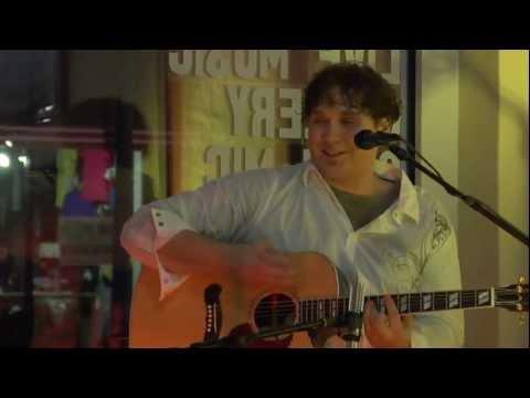 """Sunflower Girl"" by Aleksis Bilmanis performing at Cafe Semolino in Hays KS January 2010"