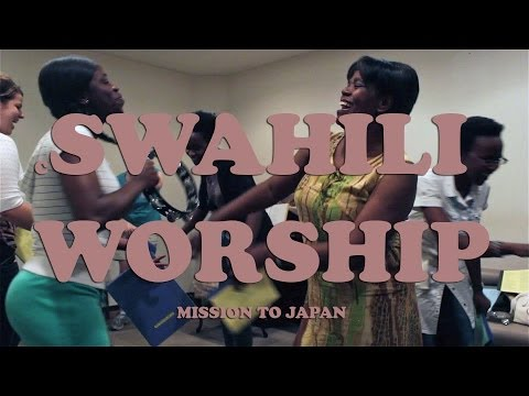Swahili Worship in Japan (@ JICA)-Mission to Japan