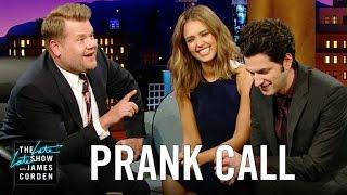 Jessica Alba Prank Calls Her Company