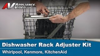 Kitchenaid W10350376 Rack Adjuster Fix Vea Mas Videos De