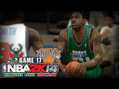 NBA 2K14 Milwaukee Bucks Association | Game 17 - at New York Knicks