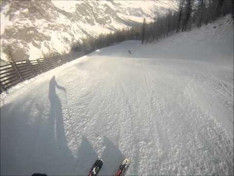 Courmayeur Mont Blanc: Pista Gabba
