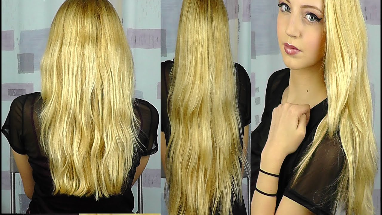 Schwarzkopf Live Salon Style Pearl Blonde Hair Dye Youtube