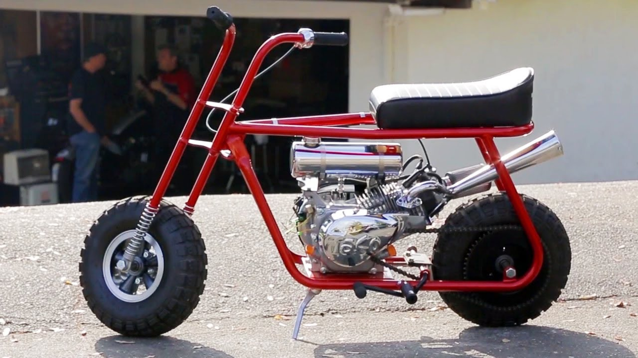 Mini Bike Mayhem Taco Mini Bikes Custom Hot Rod Bike Hot