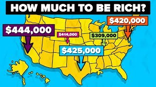 How Much Do You Need To Earn To Be Rich In These Major US Cities?