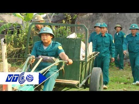 Đội quân xung kích hộ đê sông Bưởi | VTC