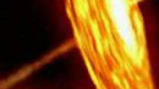 Black Hole Destroying A Star