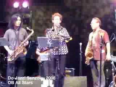 Do jazz Senzoku 2008 OB All Stars 3