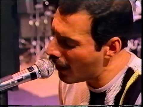 QUEEN - Live Aid - Rehearsal - RARE !