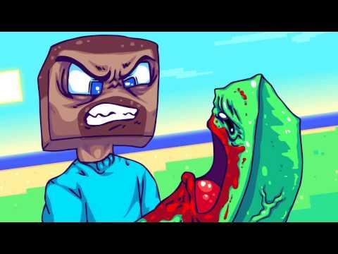 funny minecraft parody - YouTube