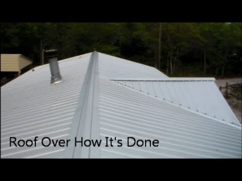 Roof Over How I Did It Youtube