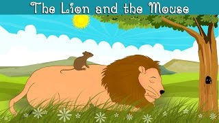 The Lion And The Mouse Kindergarten Moral Story For Kids