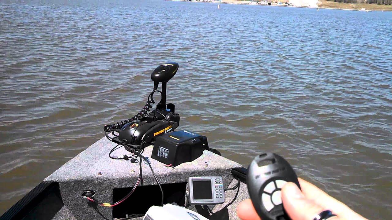 Remote control trolling motor youtube for Spot lock trolling motors