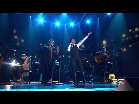Fun. performs w/ Janelle Monae at 55th Grammy Nominations Concert