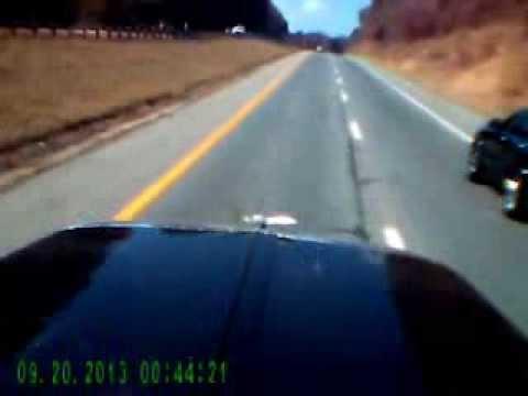 Semi truck dash cam video