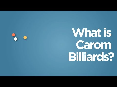 What are Carom Billiards & 3 Cushions?!