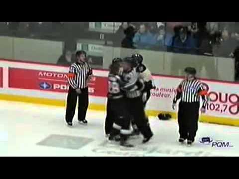Zach Beaton vs Mathieu Laverdure Jan 24, 2014