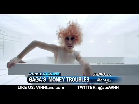 Lady Gaga Reveals Financial Woes