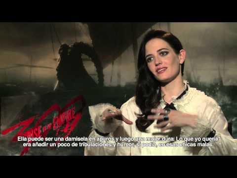 Entrevista subtitulada. 300: Rise Of An Empire (Zack Snyder, Eva Green, Lena Heady...)