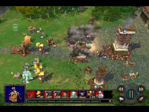 Посмотреть ролик - Heroes of Might and Magic V Tribes of the East Final Bat