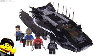 LEGO Black Panther Royal Talon Fighter Attack review! 76100